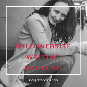 website writing weekend