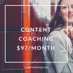 content coaching